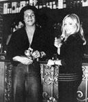 Vernon with the popular Italian Television       RAI news anchor Maria Giovanna Elmi.